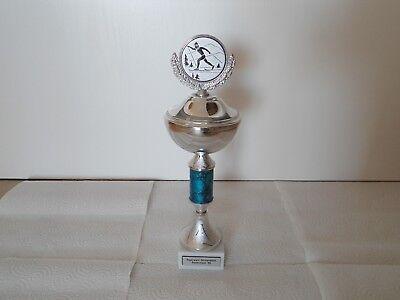 Pokal von Joska Design Kunstwerkstätten mit Gravur und Deckel