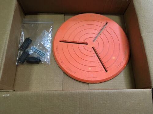 """(1) Paragon Products 15"""" Hole In One Cover w/ Assembly Hardware"""