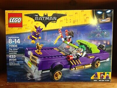 LEGO Batman Movie 70906 The Joker Notorious Lowrider 433 Pieces 100% Complete