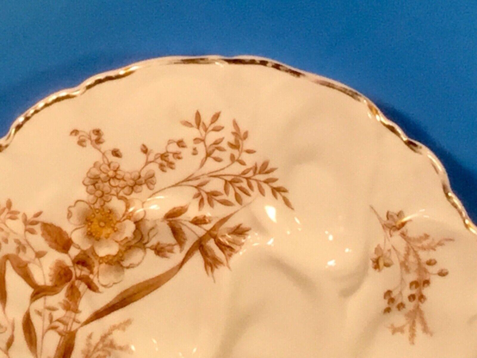 Antique Haviland Limoges Turkey Oyster Plate C.1800 s - $150.00