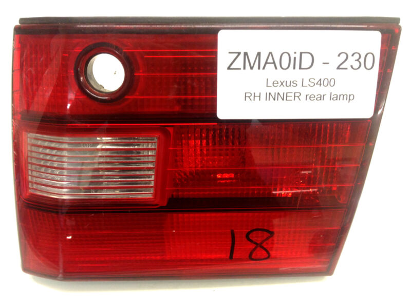 Lexus LS400 1995-1997 used rear lamp O/S-RIGHT (inner)
