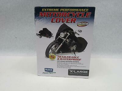 Budge XL Motorcycle Cover Fits Full Dress Bikes up to 1100cc