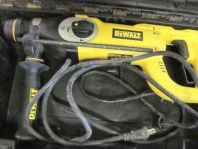 Dewalt D-handle 3 Mode Sds Hammer Drill W2 Bits  Model D25213