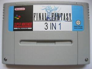 Final Fantasy 4, 5, 6 IV V VI Super Nintendo SNES PAL 3in1 ! - <span itemprop='availableAtOrFrom'>Warszawa, Polska</span> - Final Fantasy 4, 5, 6 IV V VI Super Nintendo SNES PAL 3in1 ! - Warszawa, Polska