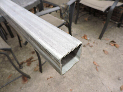 304 Stainless Steel Square Tube 2 X 2 X 0.112 60long