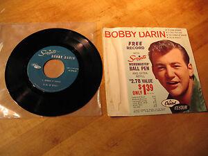 BOBBY-DARIN-SCRIPTO-PEN-ADVT-RECORD-45-RPM-E-P