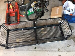 Cargo trailer hitch carrier for rent