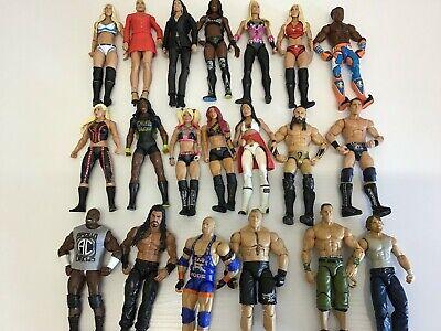 WWE WRESTLING FIGURES MATTEL DIVAS WOMEN AND  ELITES WWF CHOOSE A WRESTLER