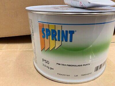 Sprint fibreglass  2k Glass Fibre Bridging Filler 2.5kg Fibreglass Car Body grp