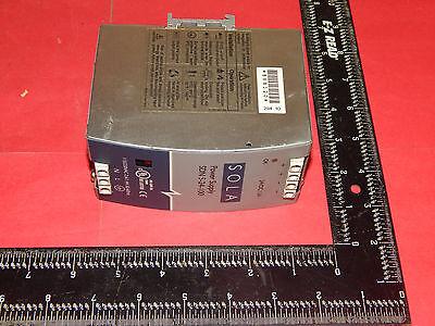 Sola Sdn-5-24-100 Power Supply 2.61.4amp 115230vac 50-60hz Sdn524100