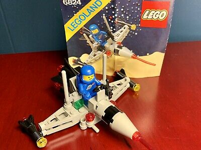 1984 Lego 6824 Space Dart, Vintage, COMPLETE, with Instructions Legoland