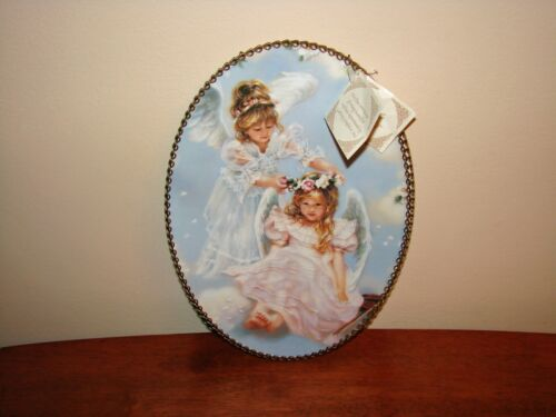 Gallery Graphics Chimney FLUE COVER Vintage Replica 2 Angels/Girls Made In USA