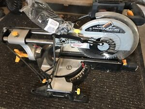 """10"""" Chicago Electric Mitre saw."""