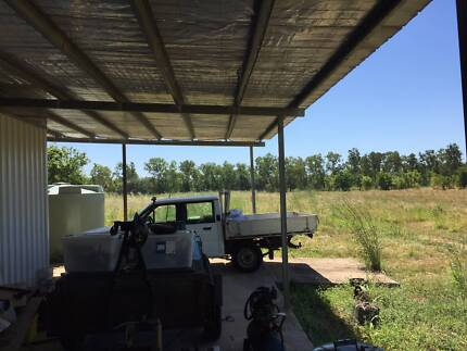 10 acres property - full of potential