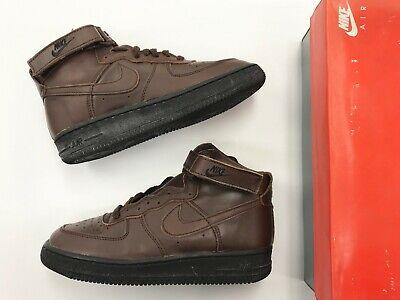 Vintage 1993 DS Nike Air Force 1 High GS Boulder Black Boys/Men shoes AF1 - Boys Air Forces