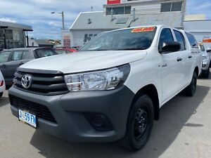 2017 Toyota Hilux auto dual cab  North Hobart Hobart City Preview