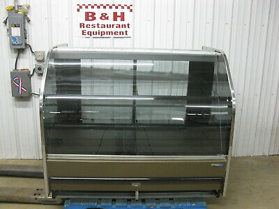 Hill Phoenix 5 Remote Curved Glass Bakery Display Show Case Merchandiser Blf59r