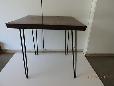 VINTAGE HAIRPIN MCM TABLE