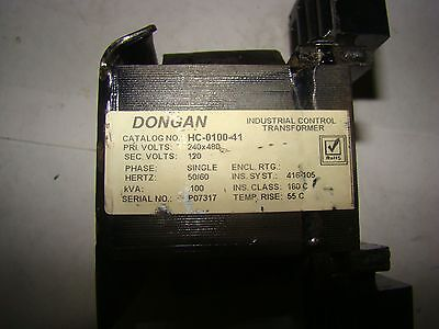 1pc. Dongan Hc-0100-41 Industrial Control Transformer Used