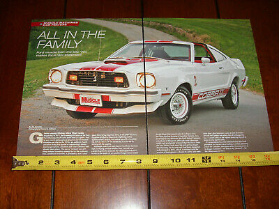 1977 MUSTANG II COBRA - ORIGINAL 2016 ARTICLE for sale  Shipping to Canada