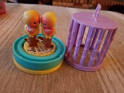 Littlest Pet Shop VINTAGE 1992 Littlest Pet Shop Kissing Lovebirds
