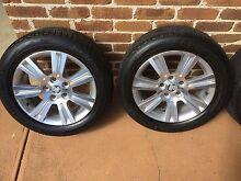 4 17 inch Holden VE wheels, like new. With Yokohama tyres Sunbury Hume Area Preview