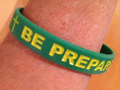 rubber wristbands -bracelets-Boy Scouts-Christian -Bible (Christian Gummi Armbänder)