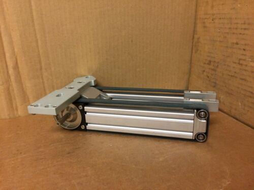 Double Belt Small 8020 Aluminum Frame Conveyor Twin Roller Mount Plate Wafer