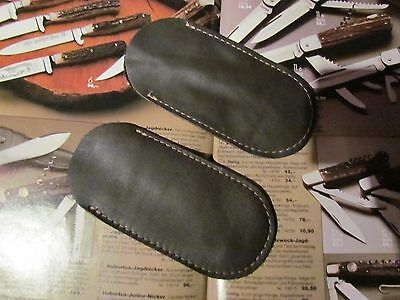 Solingen Etui (STECK ETUI) Hülle Weiches Leder für Taschenmesser Solingen .