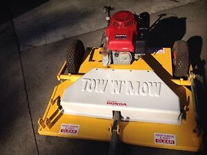Tow N Mow 13hp Honda - tow behind Slasher Wandin North Yarra Ranges Preview