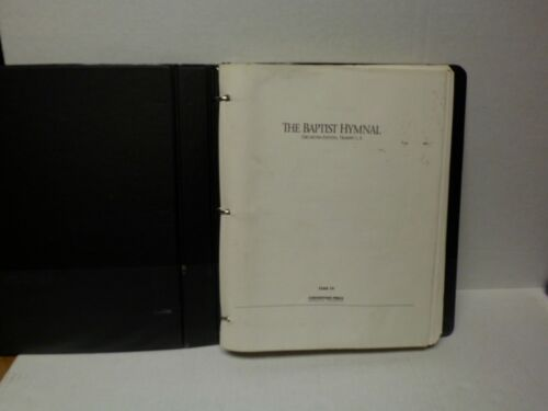 RARE The Baptist Hymnal Orchestra Edition, Trumpet I & II (1991) First Printing