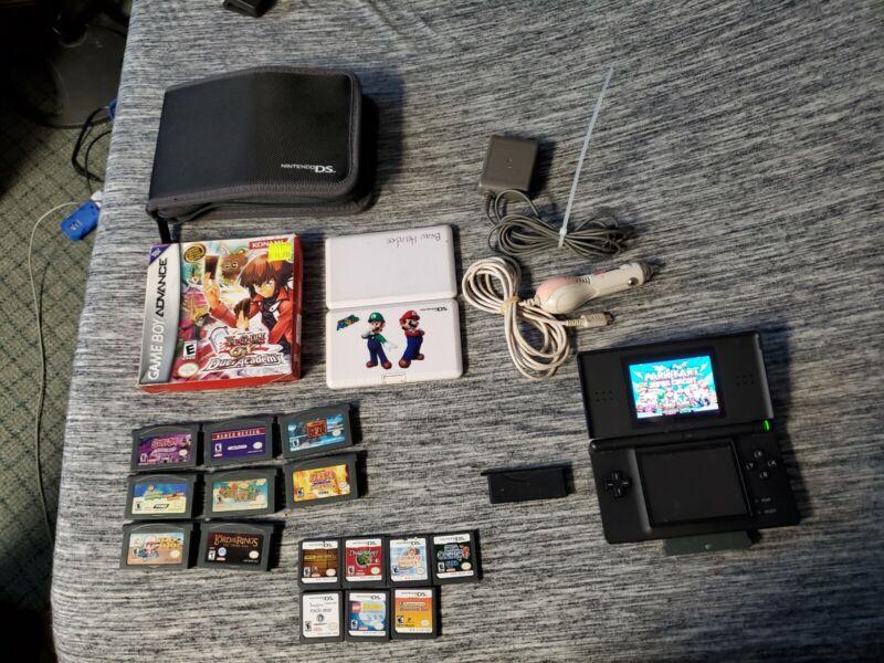 Huge Lot Of Nintendo Gameboy Advance & DS Lite Games super mario + kart