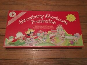 Strawberry Shortcake board game from 80s