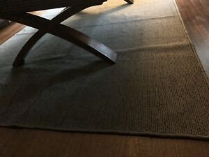 Grey wool rug - best offer