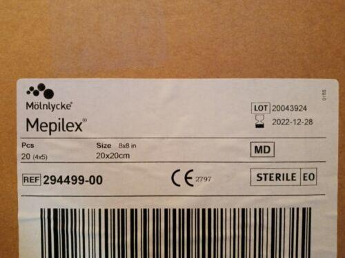 (20) Mepilex 8 x 8 New In Box Exp. 12-2023 294499