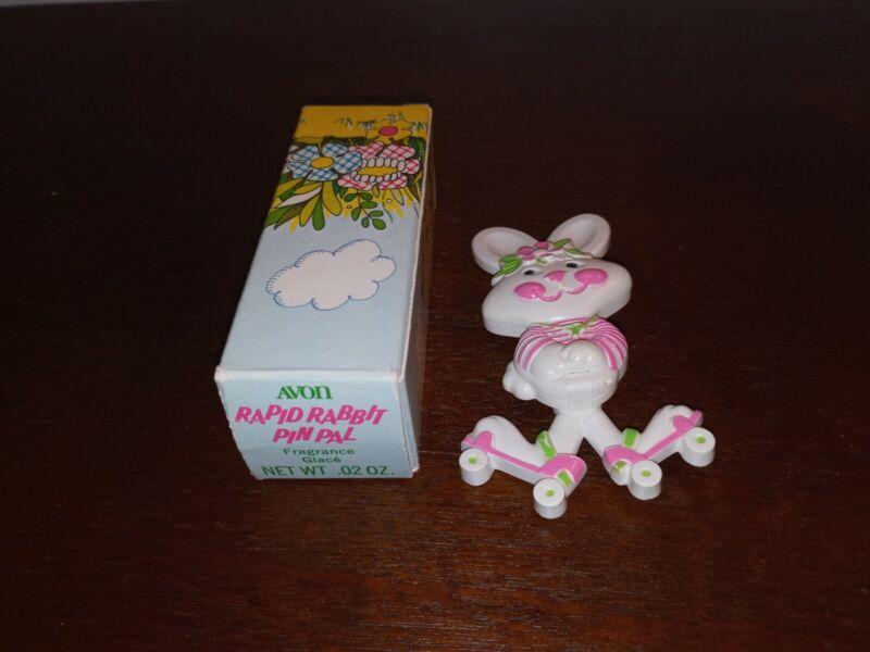 Avon Rapid Rabbit Pin Pal - 1970s