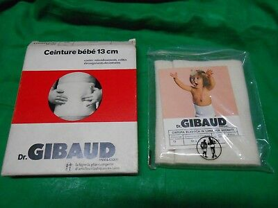 Cintura lana Dr. GIBAUD NEONATO 13cm-TG 04 pancera termoterapia comprar usado  Enviando para Brazil