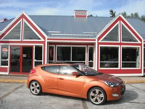 2014 Hyundai Veloster SUNROOF HEATED SEATS BACKUP CAMERA