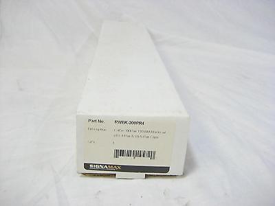 Cat5e 110 Block (SignaMax RWBK-200PR4 Cat5e 200 Pair 110 RM Blocks w/ (40) 4-pair & (8) 5-pair)