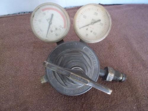 Victor Brass Regulator & Gauges 3R410A
