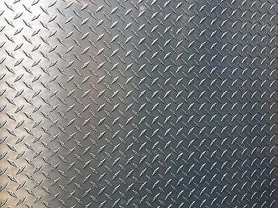 .125 18 Steel Diamond Tread Plate 12 X 24