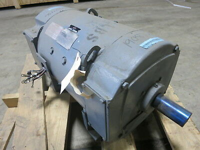 Rebuilt General Electric Dc Motor Cd328at 15 Hp 500 V 11502000 Rpm Tefc Ge 15hp