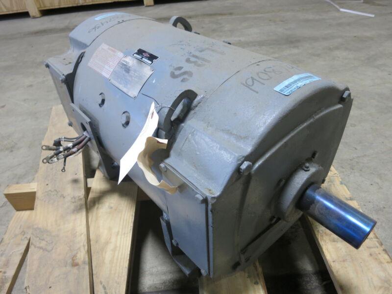 REBUILT General Electric DC Motor CD328AT 15 HP 500 V 1150/2000 RPM TEFC GE 15HP