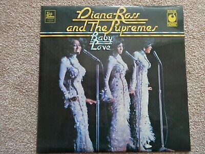 """DIANA ROSS & THE SUPREMES LP """"BABY LOVE"""" ORIGINAL SOUNDS SUPERB ALBUM"""