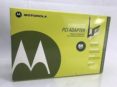 MOTOROLA WIRELESS PCI ADAPTER WPCI810GP DRIVER DOWNLOAD FREE