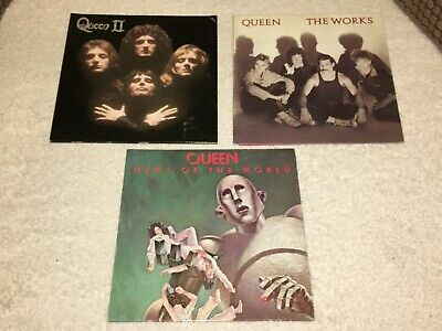 QUEEN...The works + News of the World + Queen 11...LP's