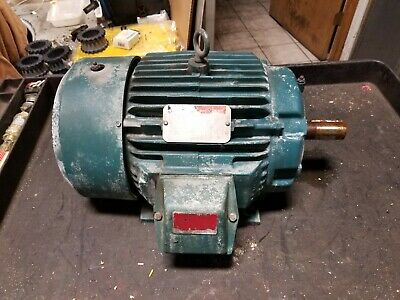 Reliance 10 Hp Electric Ac Motor 230460 Vac 1755 Rpm 3 Phase 215t Frame