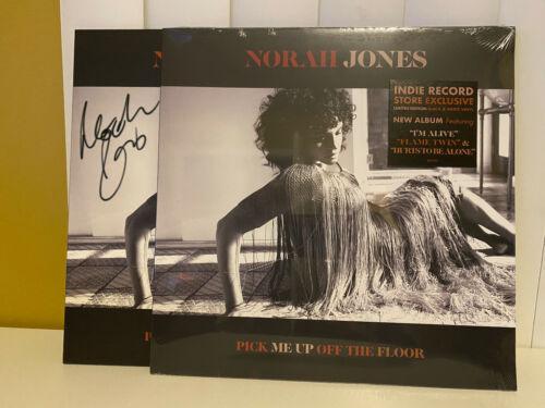 SEALED Norah Jones Pick Me Up Off The Floor SIGNED Vinyl LP Color Autographed