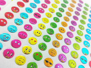650x Childrens Cool  Kids Smiley Face Reward Stickers School Teacher Merit bulk