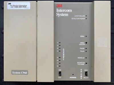 3m Complete Intercom System For Drive Thru C1060 With One Headset Battery